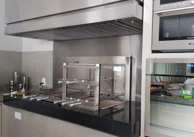 Coifas para espaços gourmet (10)